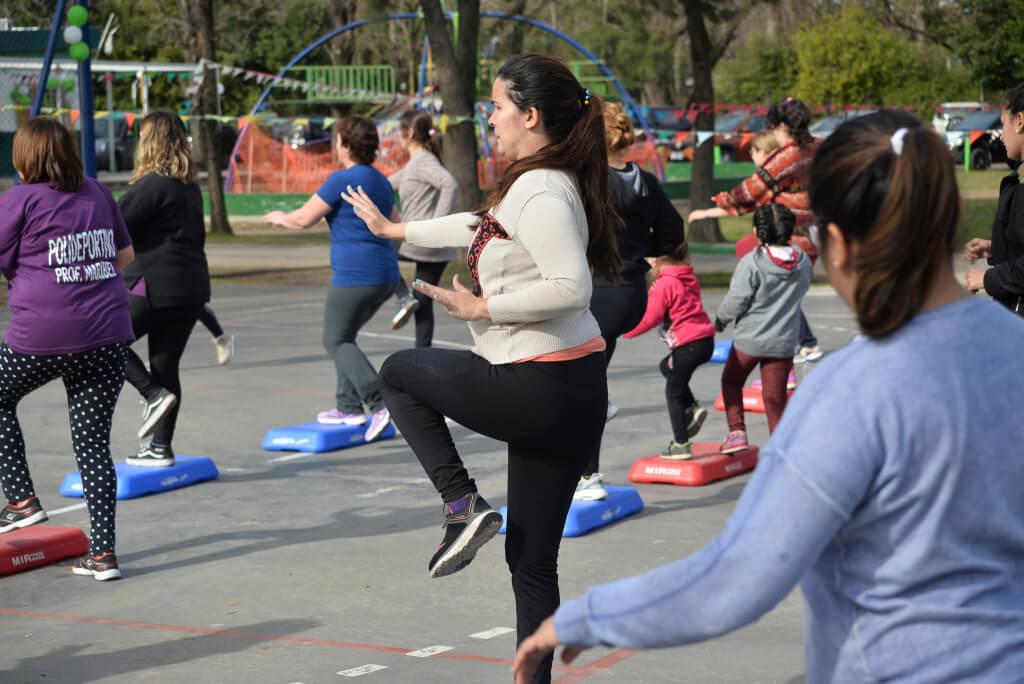 entrenamiento- Actividades Polideportivo - Municipalidad de Hurlingham
